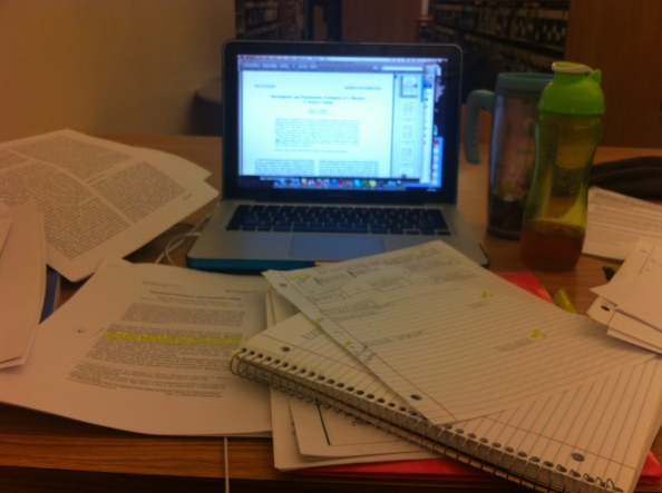 Another Friday Spent in the Library